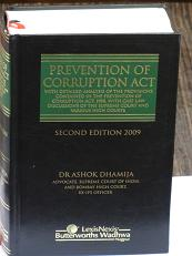 Prevention of Corruption Act book by Dr. Ashok Dhamija
