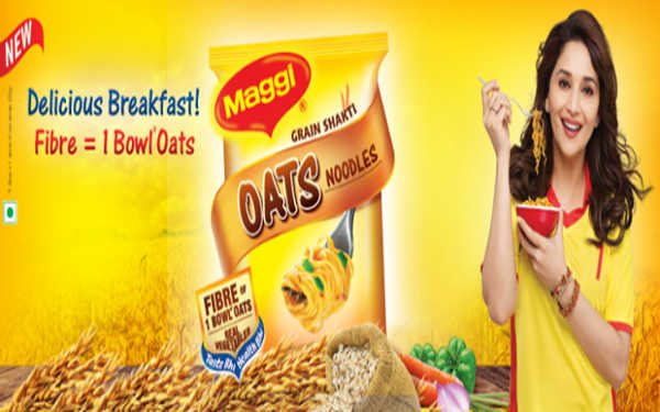 Maggie ad by Madhuri Dixit