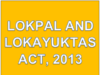 Lokpal and Lokayuktas Act, 2013