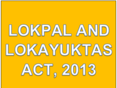 Lokpal and Lokayuktas Act, 2013